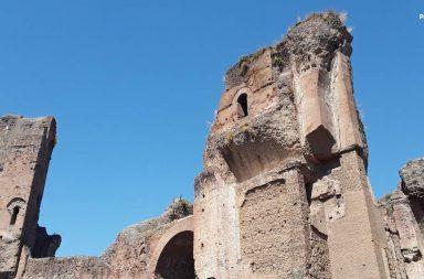Terme di Caracalla, la storia