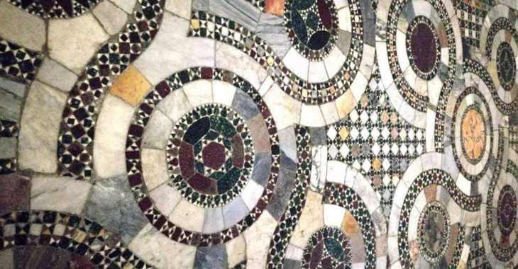 Pavimento della Cripta di Anagni