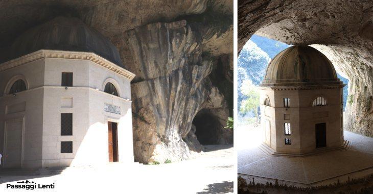 Tempio del Valadier a Genga