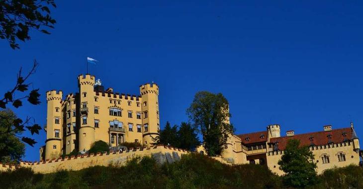 Castello di Hohenschwangau in Baviera
