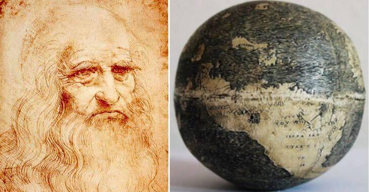 Leonardo Da Vinci e il suo Mappamondo
