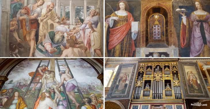Ciclo di affreschi della Chiesa di San Maurizio