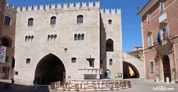 Il centro storico di Fabriano