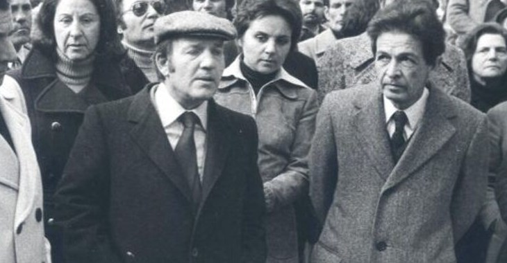 Luigi Petroselli con Enrico Berlinguer