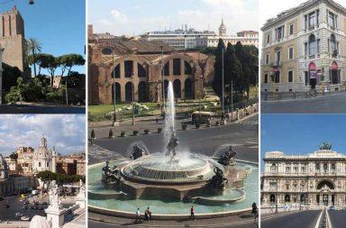 Mini guida di Roma a piedi da Termini al Palazzaccio