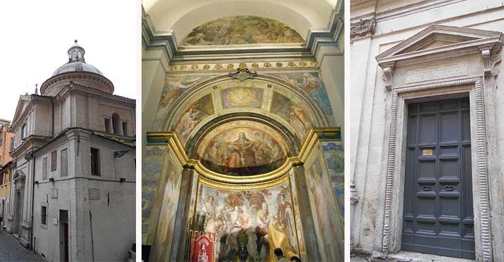 Chiesa di Sant'Eligio degli Orefici a Roma, cosa vedere