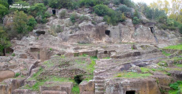 Necropoli di Blera, vicino Viterbo