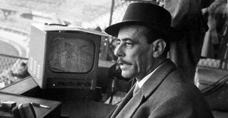 Nicolò Carosio, radiocronista di Tutto il calcio minuto per minuto