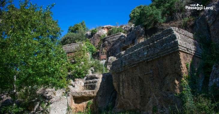 Tombe della necropoli di Norchia