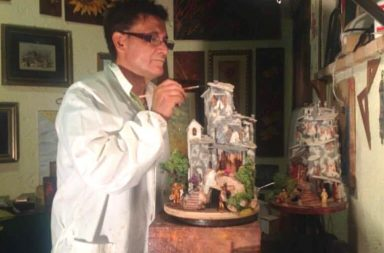 Umberto Mancini e i suoi Presepi d'arte