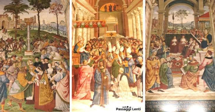 Libreria Piccolomini nel Duomo di Siena