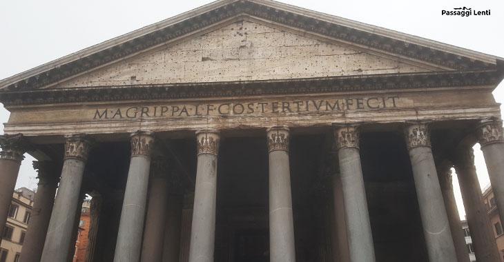 Pantheon di Roma, Agrippa