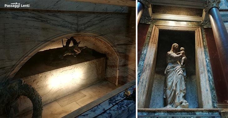 Chi è sepolto al Pantheon? La tomba di Raffaello