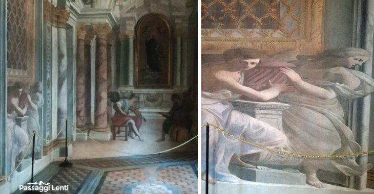 Il corridoio prospettico di Andrea Pozzo