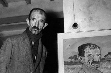 Il pittore Antonio Ligabue