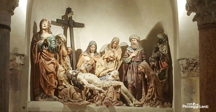 Il compianto sul Cristo Morto nella chiesa di San Satiro