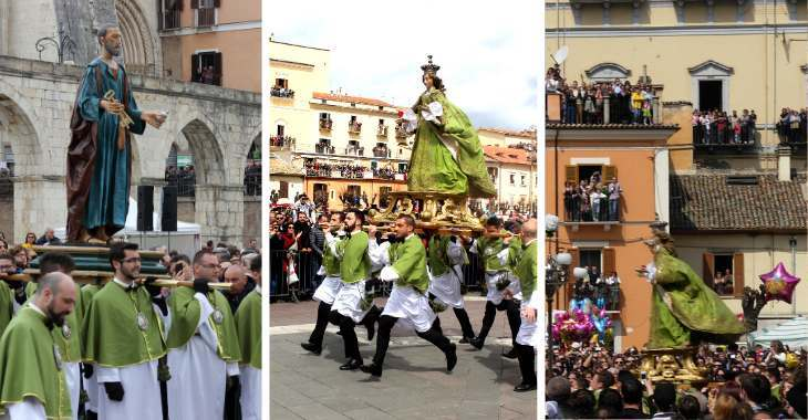 Madonna che scappa di Sulmona