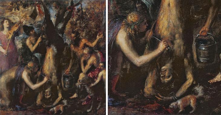 Tiziano. Apollo e Marsia