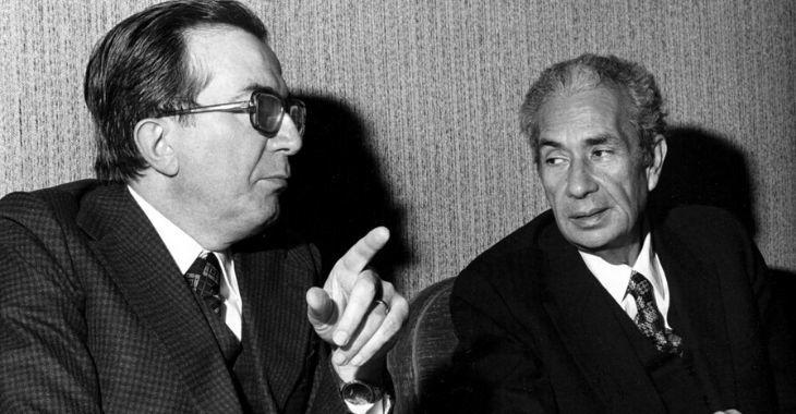 Aldo Moro e Giulio Andreotti