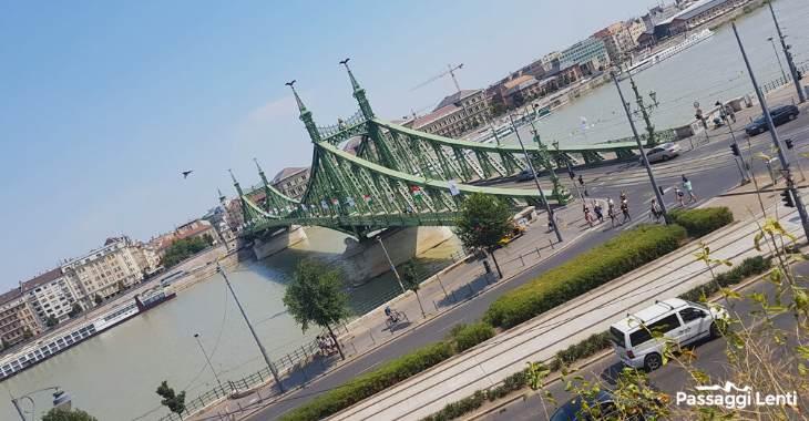 Budapest, ponte della Libertà