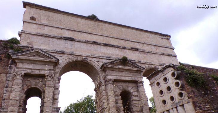 Porta Maggiore a Roma e sepolcro di Eurisace