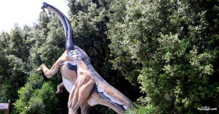 I dinosauri nell'Oasi di Macchiagrande