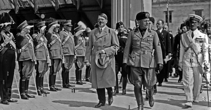 Hitler e Mussolini a Venezia nel 1934