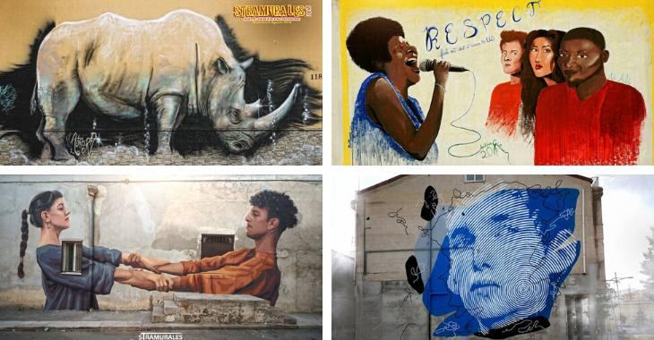 Gli street artist di Stornara