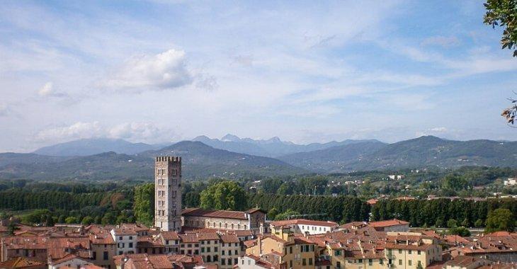Via Francigena Toscana, Lucca