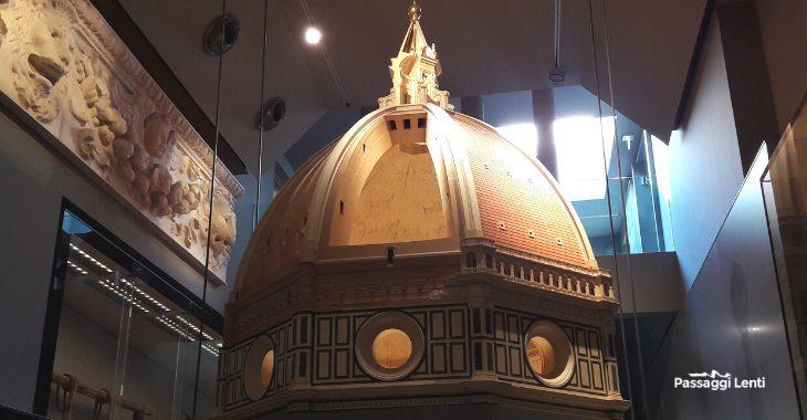 Modello ligneo cupola del Brunelleschi