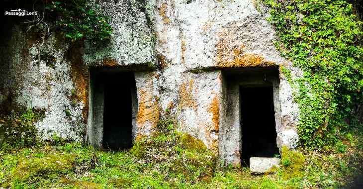 Barbarano Romano: tombe nella necropoli di San Giuliano