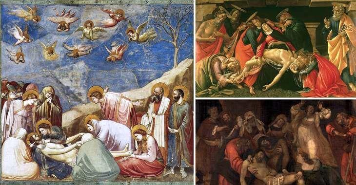 Compianto sul Cristo Morto, Giotto