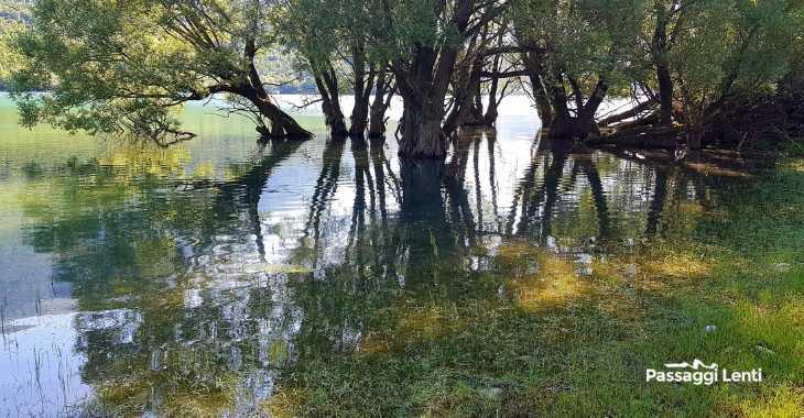 Barrea, il lago