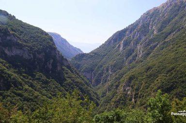 Gole di Celano in Abruzzo