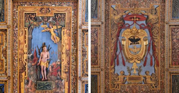 Soffitto di San Sebastiano Fuori le Mura a Roma