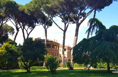 Villa Celimontana al colle Celio a Roma