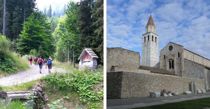 Cammino Celeste in Friuli: Aquileia
