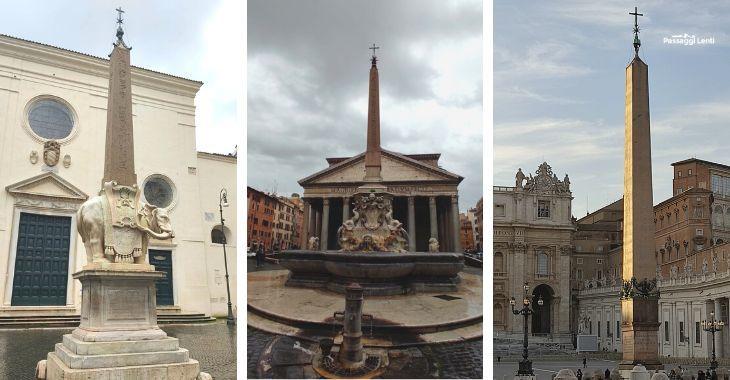 Obelischi a Roma: quanti sono?