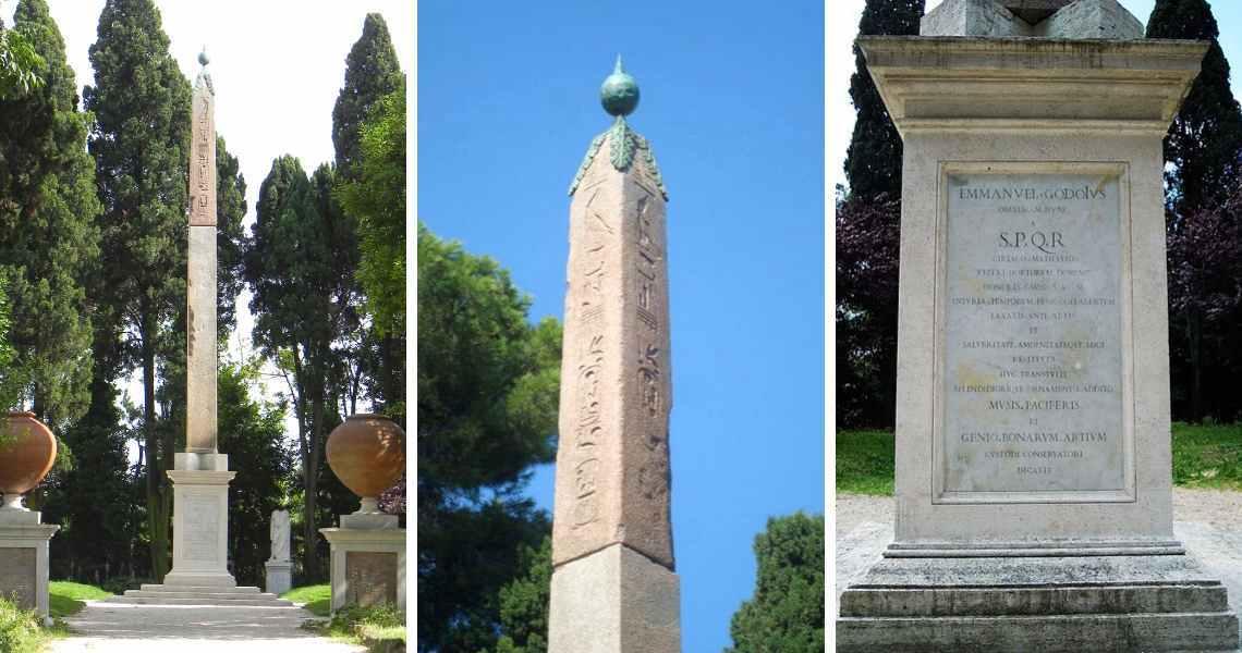 Obelisco di Villa Celimontana a Roma