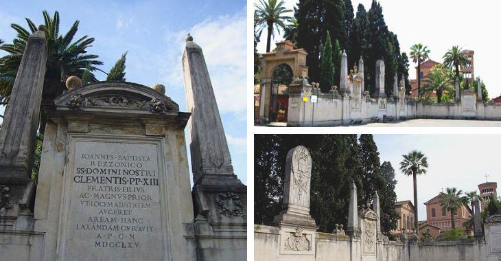 Obelischi di Piazza dei Cavalieri di Malta a Roma