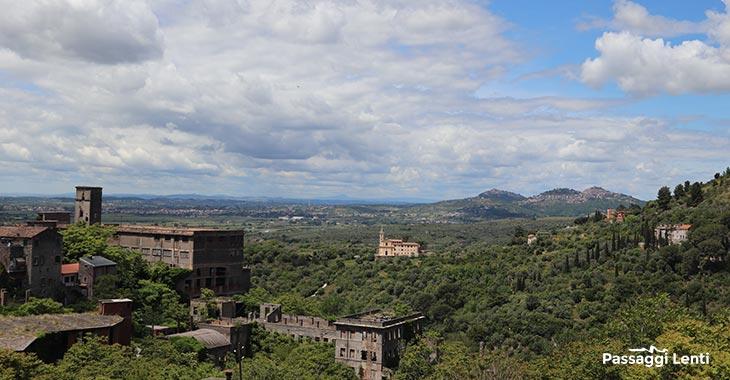 Tivoli, panorama sulla Valle dell'Aniene